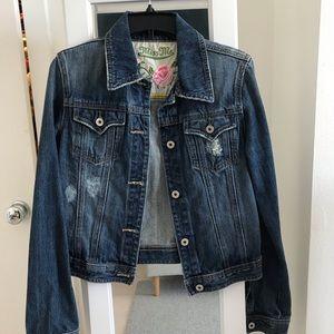 Women's Miss Me denim jacket (Med size)